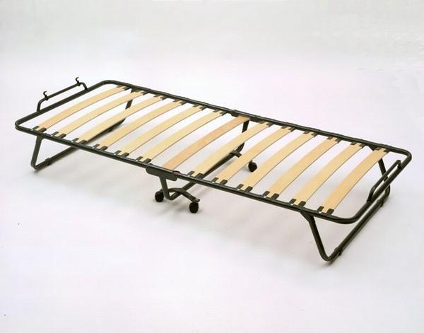 Εφεδρικό σπαστό κρεβάτι με μεταλλικές